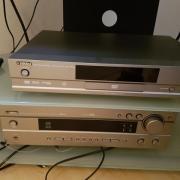 Yamaha Receiver + DVD