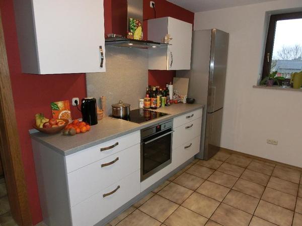 zweizeilige nobilia-küche mit modernen e-geräten in top-zustand zu ... - Küche Zweizeilig